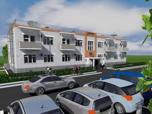 Проект двухэтажного офисного здания