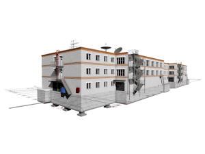 Проект четырехэтажного гаража на 270 машиномест