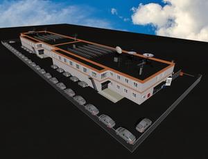 Проект трехэтажного паркинга