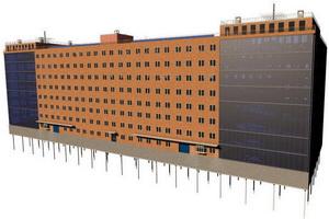 Многоэтажный паркинг на 1000 машиномест