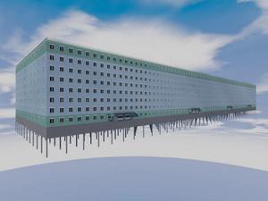 Проект многоэтажного паркинга закрытого типа на 4250 машиномест