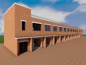 Готовый проект многофункционального гаража для Интернет-магазина