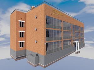 Готовый проект 3-х этажной гостиницы на 20 номеров с техническим этажом