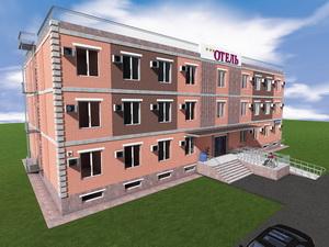 Готовый проект четырехэтажной гостиницы на 46 номеров
