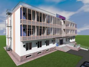 Проект двухэтажной гостиницы на 46 номеров