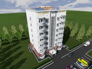 Проект семиэтажной гостиницы