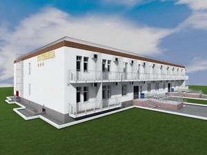 Готовый проект двухэтажной гостиницы на 36 номеров