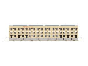 Проект четырнадцатиэтажной гостиницы