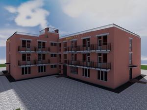 Проект восьмиэтажной гостиницы
