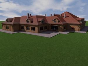 Проект двухэтажной гостиницы