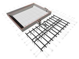 Фундамент дома и подземного паркинга