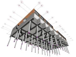 Фундамент многоэтажного дома