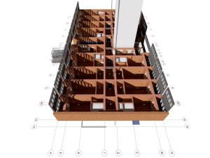 План первого этажа многоэтажного дома