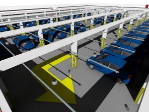Спринклерная система подземного паркинга