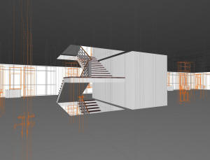 Каркас многоэтажного дома