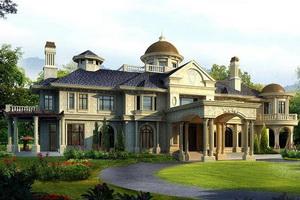 Проект трехэтажного частного дома