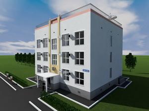 Проект трехэтажного административного здания
