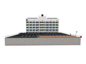 Проект дома с подземным паркингом