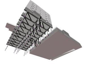 Общий вид фундамента дома и подземного паркинга