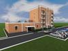 Проект 4-х этажного одноподъездного жилого дома на 16 квартир с гаражом