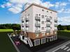Проект пятиэтажного жилого дома на 6 квартир с паркингом и офисными помещениями