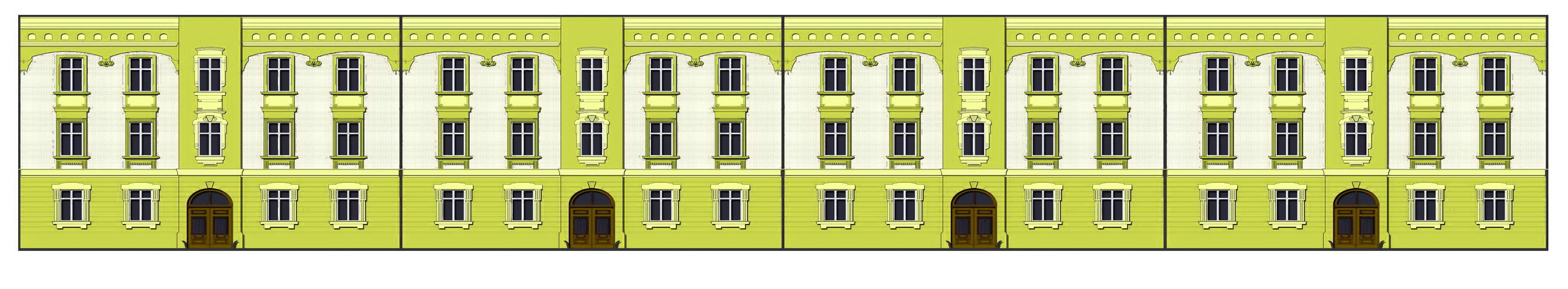 МРР7516 Колористическое решение фасадов