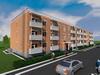 Проект трехэтажного двухподъездного жилого дома на 48 квартир