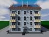 Проект трехэтажного жилого дома