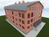 Проект 3-х этажногожилого дома
