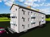Проект трехэтажного одноподъездного дома на 6 квартир