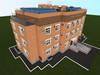 Проект одноподъездного трехэтажного жилого дома на 12 квартир
