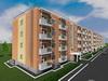 Проект четырехэтажного четырехподъездного жилого дома на 128 квартир
