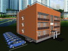 Проект 3-х этажного односекционного жилого дома на 12 квартир с техническим этажом (чердаком