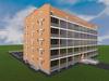 Проект 7-ти этажного односекционного жилого дома с подземным паркингом