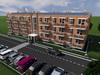 Проект трехэтажного одноподъездного жилого дома  на 36 квартир
