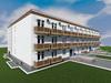 Готовый проект трехэтажного дома на 52 квартиры-студии