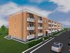 Готовый проект жилого трехподъездного многоквартирного трехэтажного дома на 72 квартиры