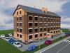 Проект четырехэтажного одноподъездного жилого дома на 16 квартир