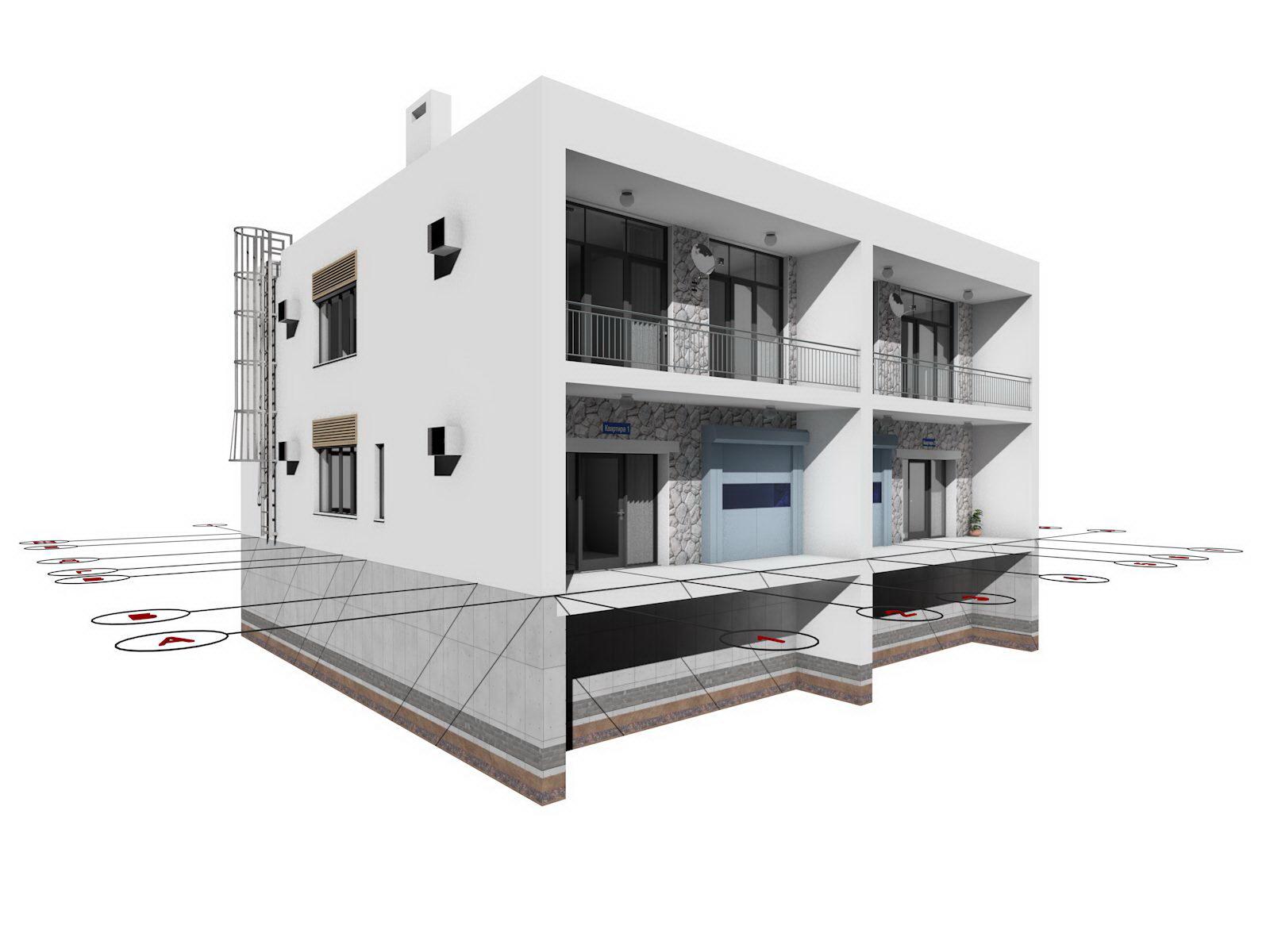 схема пятиэтажного дома одноподъездного