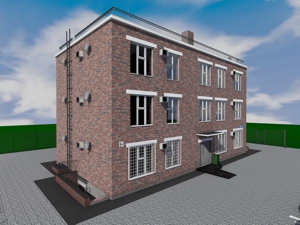 Готовый проект трехэтажного жилого дома на 5 квартир с гаражом на 1 этаже