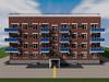 Проект четырехэтажного одноподъездного дома на 32 квартиры