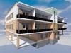 Проект трехэтажного дома с паркингом