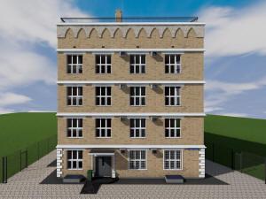 Проект трехэтажного дома