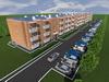 Проект трехэтажного жилого дома на 96 квартир