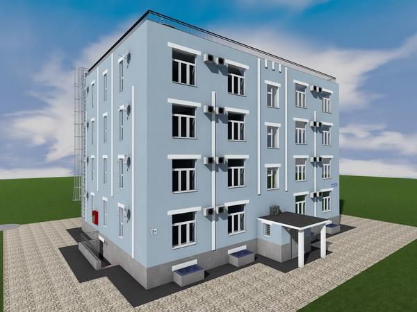Проекта жилого многоквартирного дома