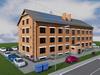 Проект трехэтажного одноподъездного жилого дома на 12 квартир