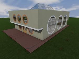 Проект двухэтажного супермаркета