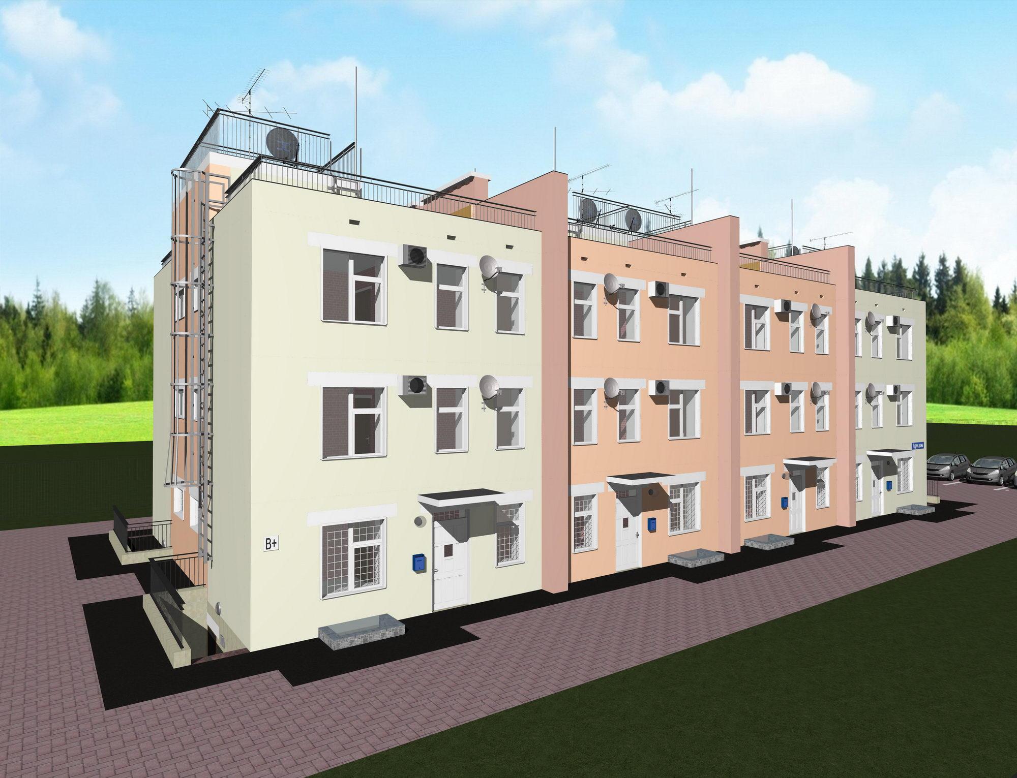 Строительство домов под ключ в Москве - Проектирование и