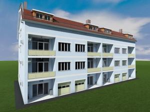 Проект трехэтажного таунхауса
