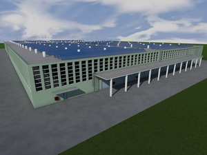 Проект складского комплекса